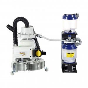 Das Produkt Metasys EXCOM hybrid A2 Absaugsystem für 2-3 Behandlungseinheiten, Amalgamabscheider ECO II D, Schalldämmbox mit integriertem Ventilator 02010227/40030004 aus dem Global-dent online shop.