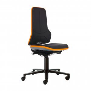Das Produkt BIMOS Neon 2 Arbeitsstuhl, Synchrontechnik, Ergonomiepaket, Flexband Orange, Supertec Polsterelement Schwarz 9573 3279 9588 SP01 aus dem Global-dent online shop.