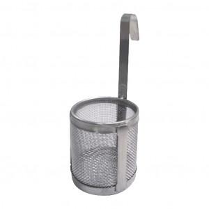 Das Produkt Reitel Einhängekorb für SONIRET Glashalter, Edelstahl 20404000 aus dem Global-dent online shop.