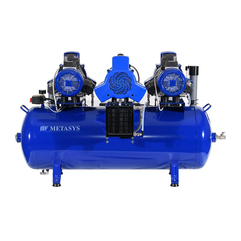 Das Produkt Metasys META Air 650 Light Kompressor für 9 bis 10 Arbeitsplätze, 400 Volt 03020009 aus dem Global-dent online shop.