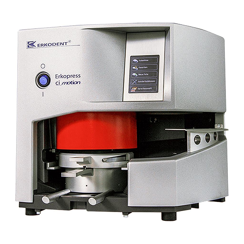 Das Produkt Erkodent Erkopress ci motion Druckformgerät mit automatisiertem Tiefziehvorgang und integrierte Drucklufterzeugung 173500 aus dem Global-dent online shop.