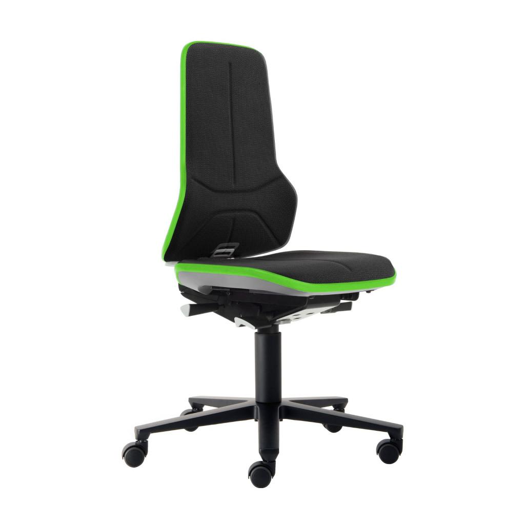 Das Produkt BIMOS Neon 2 Arbeitsstuhl, Synchrontechnik, Ergonomiepaket, Flexband Grün, Supertec Polsterelement Schwarz 9573 3280 9588 SP01 aus dem Global-dent online shop.