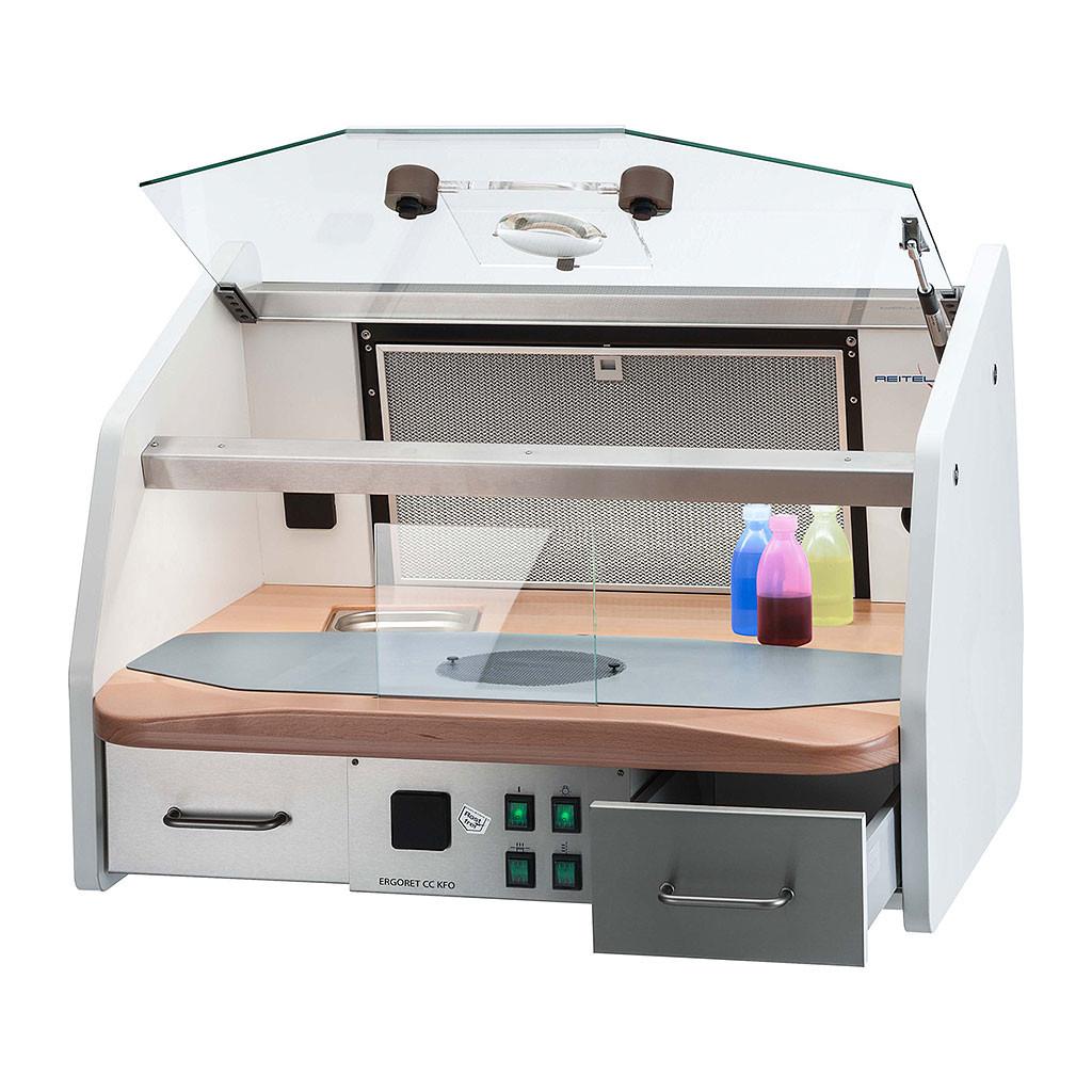 Das Produkt Reitel ERGORET CC KFO Arbeitsplatz weiß 14805000 aus dem Global-dent online shop.