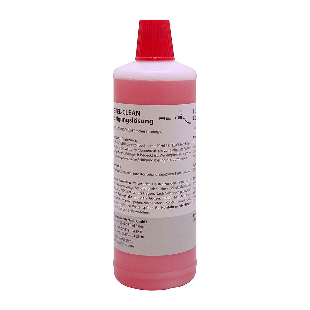 Das Produkt Reitel Reitel-CLEAN Reinigungslösung für Nadelreiniger 20500051 aus dem Global-dent online shop.