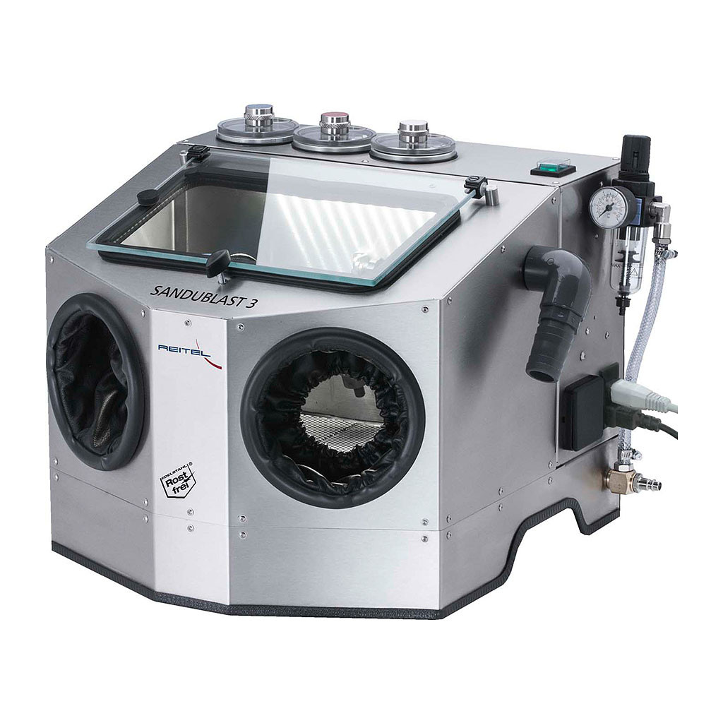 Das Produkt Reitel SANDUBLAST 3 Sandstrahlgerät 14606000 aus dem Global-dent online shop.