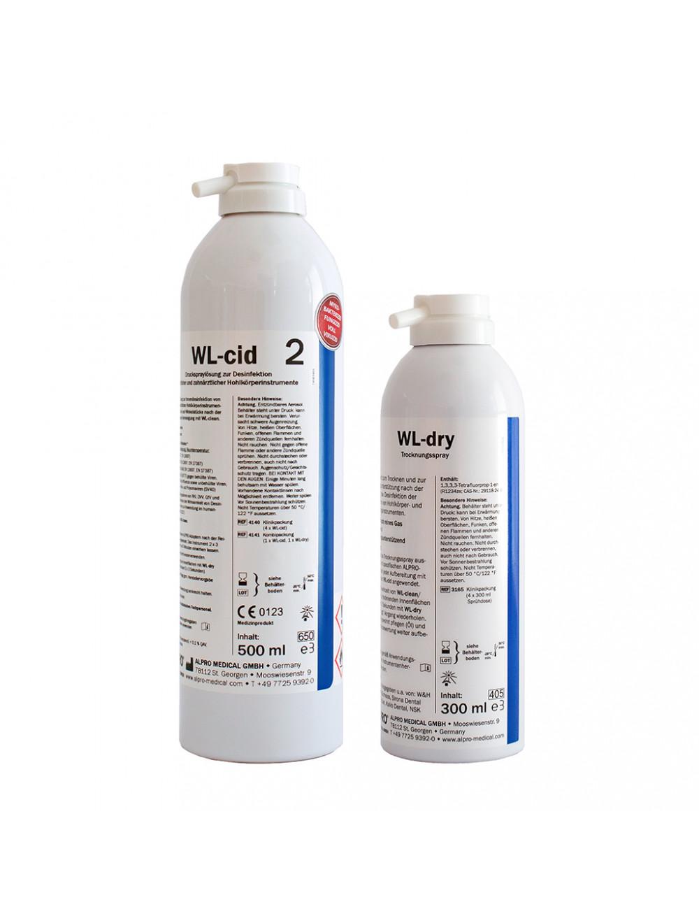 Alpro Kombipackung WL-cid + WL-dry 4141