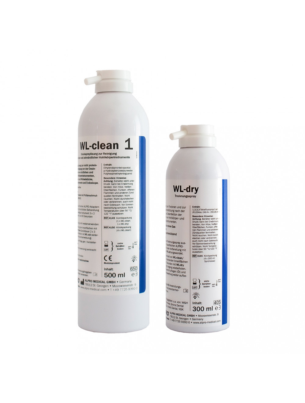 Alpro Kombipackung WL-clean + WL-dry 4149