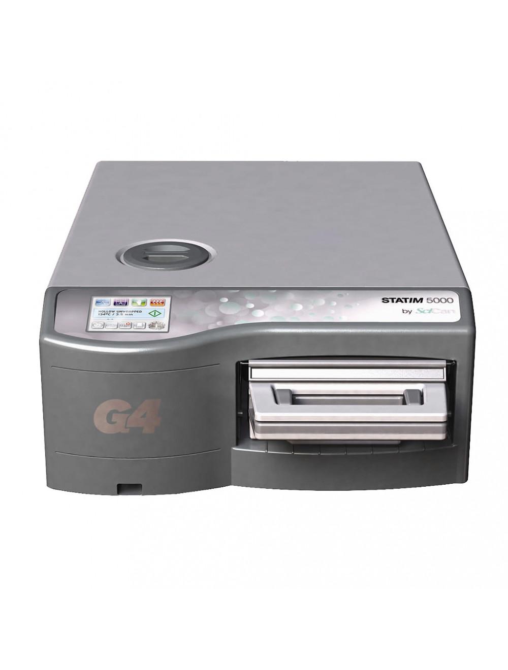 Scican Kassettenautoklave Statim 5000, Kammergröße 5,1 Liter, Sterilisationszeit unter 4 Minuten, G4-Cloud Autoklaven